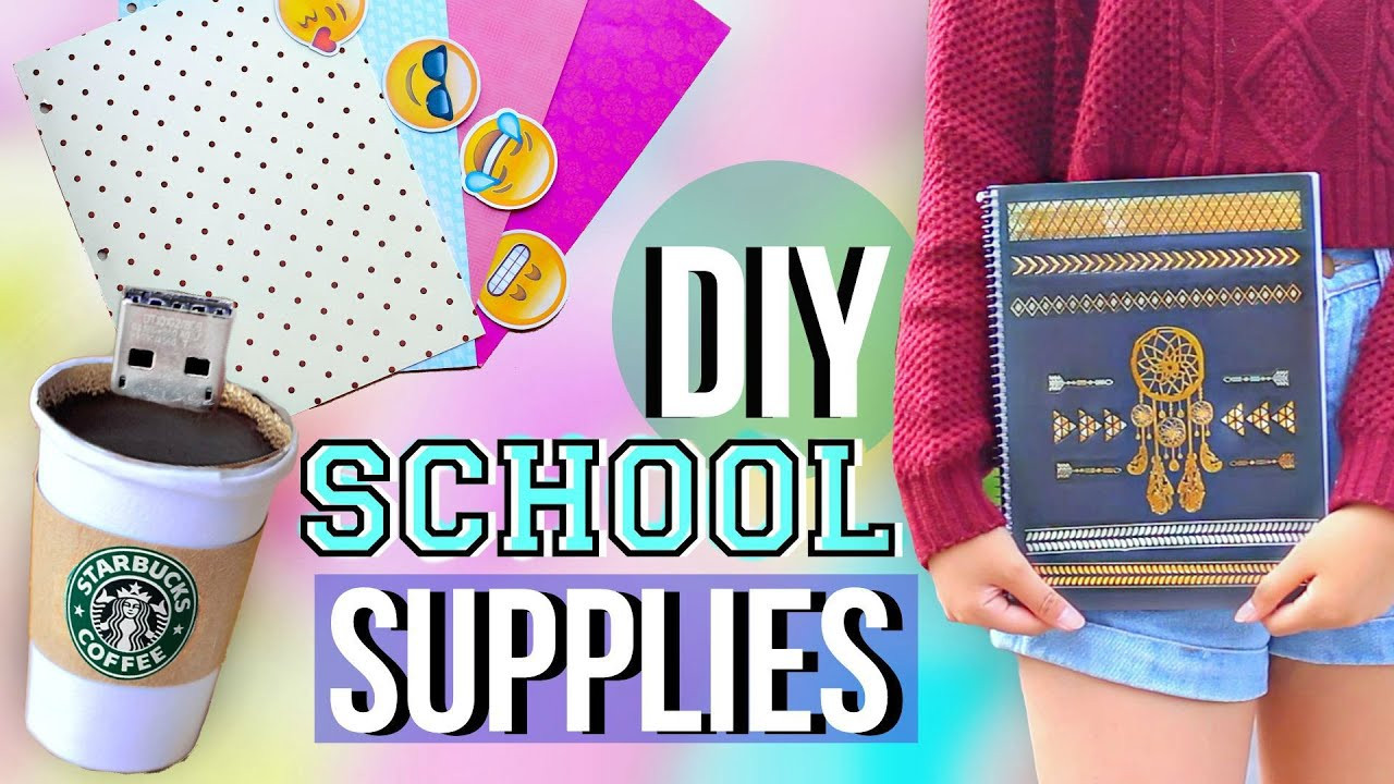Best ideas about DIY Back To School Organization . Save or Pin DIY Back to School Supplies and Organization Now.