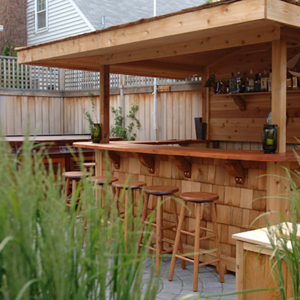 Best ideas about DIY Backyard Bars . Save or Pin Swanky DIY Bar Part 1 Surface Now.