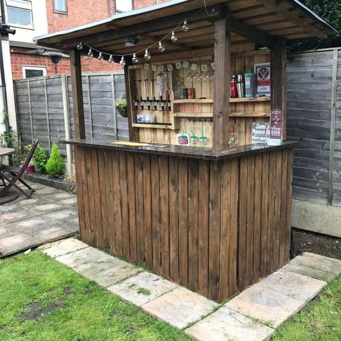 Best ideas about DIY Backyard Bars . Save or Pin The Best DIY Wood & Pallet Ideas Kitchen Fun With My 3 Sons Now.