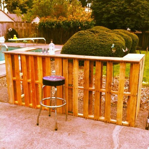Best ideas about DIY Backyard Bars . Save or Pin 7 Creative DIY Outdoor Pallet Bar Ideas Now.