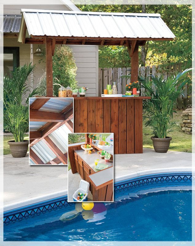 Best ideas about DIY Backyard Bars . Save or Pin How To Build A Portable Tiki Bar WoodWorking Projects Now.