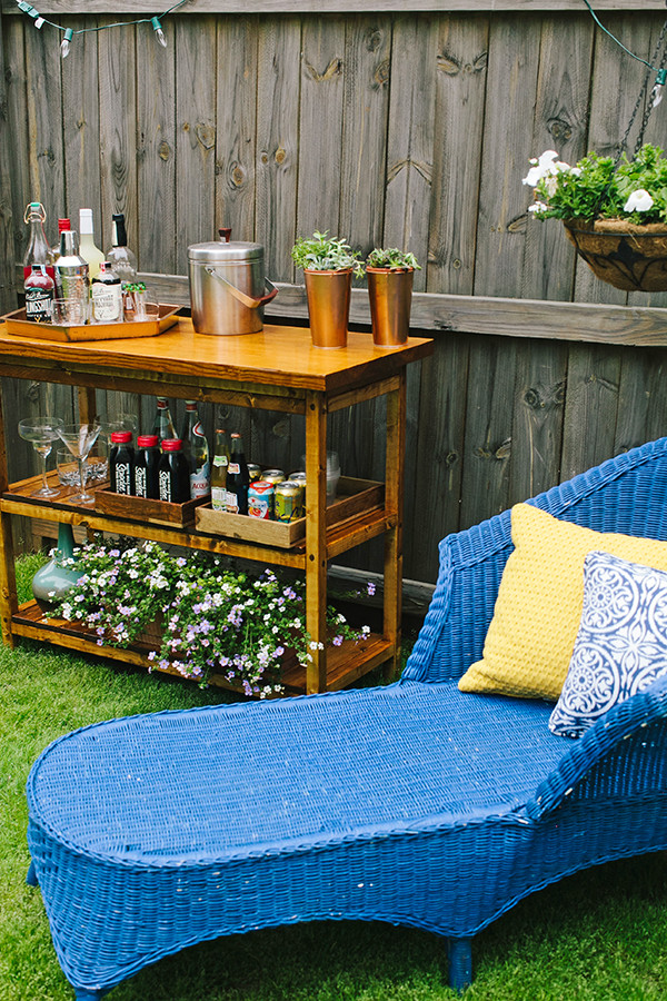 Best ideas about DIY Backyard Bars . Save or Pin DIY Indoor Outdoor Bart Cart Table Now.
