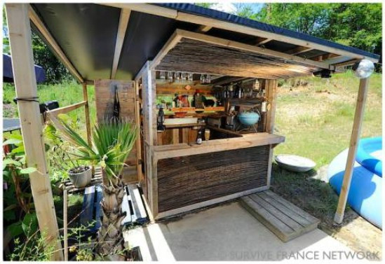 Best ideas about DIY Backyard Bars . Save or Pin 10 Outdoor DIY Projects That Inspire Beauty and Relaxation Now.