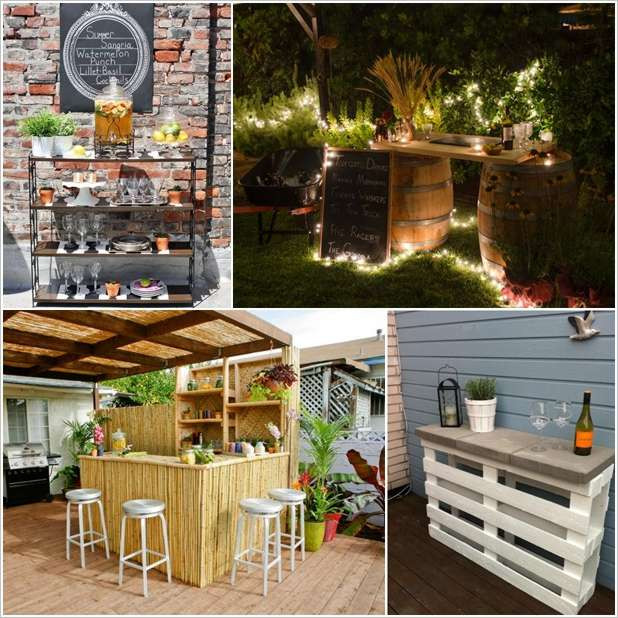 Best ideas about DIY Backyard Bars . Save or Pin 5 Amazing DIY Outdoor Bar Ideas for Your Backyard Now.