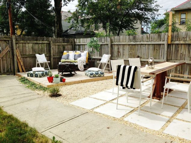 Best ideas about DIY Backyard Makeovers . Save or Pin DIY Bud Backyard and Deck Makeover Now.