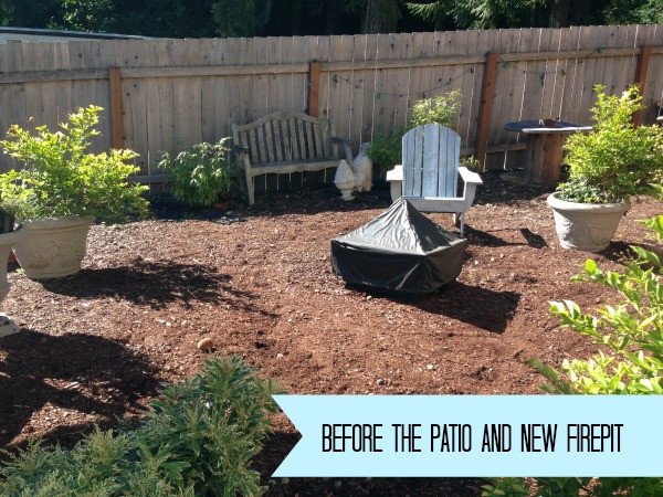 Best ideas about DIY Backyard Makeovers . Save or Pin Easy DIY Firepit Progress on the Fall Backyard Makeover Now.