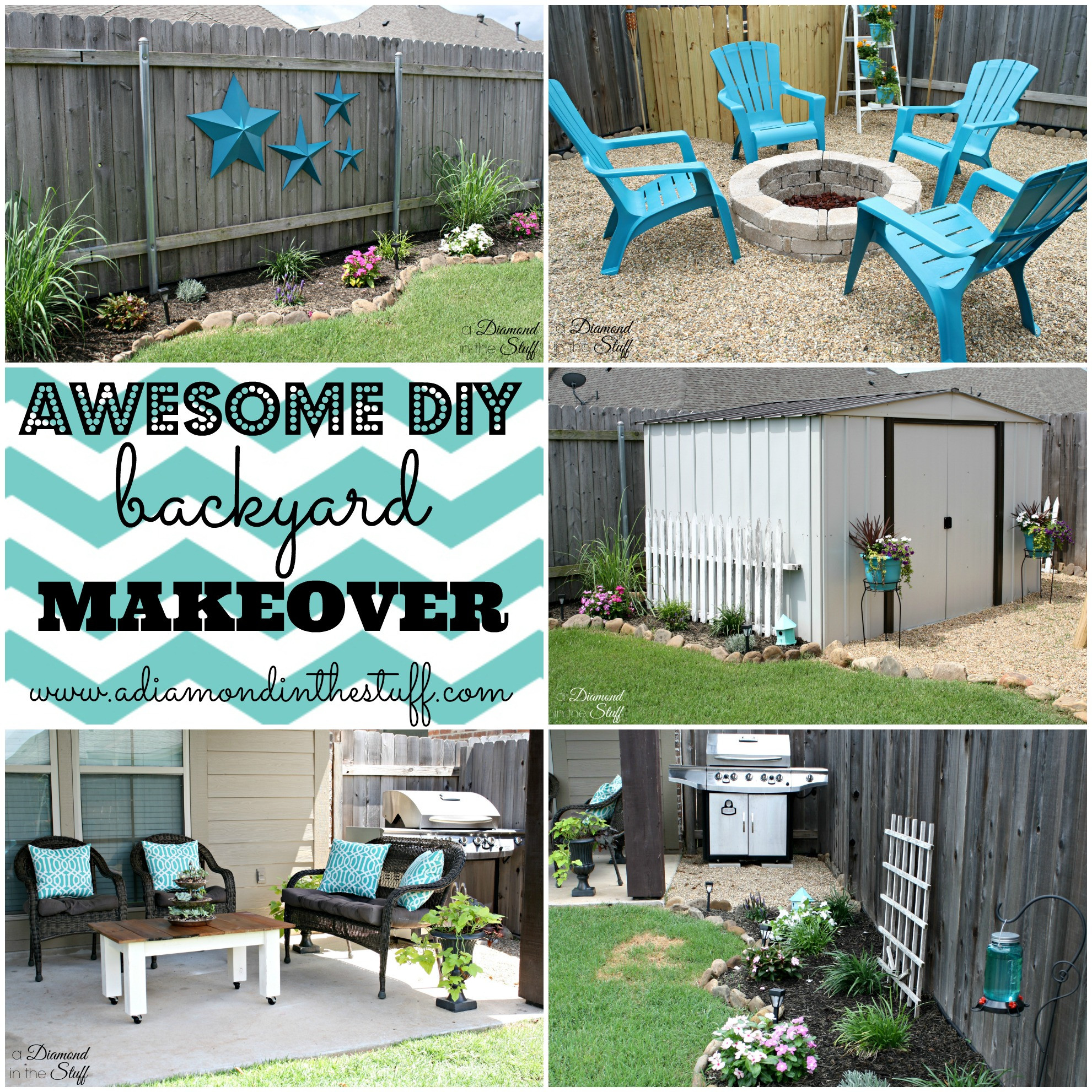 Best ideas about DIY Backyard Makeovers . Save or Pin Awesome DIY Backyard Makeover Now.