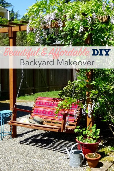 Best ideas about DIY Backyard Makeovers . Save or Pin Beautiful and Affordable DIY Backyard Makeover Now.
