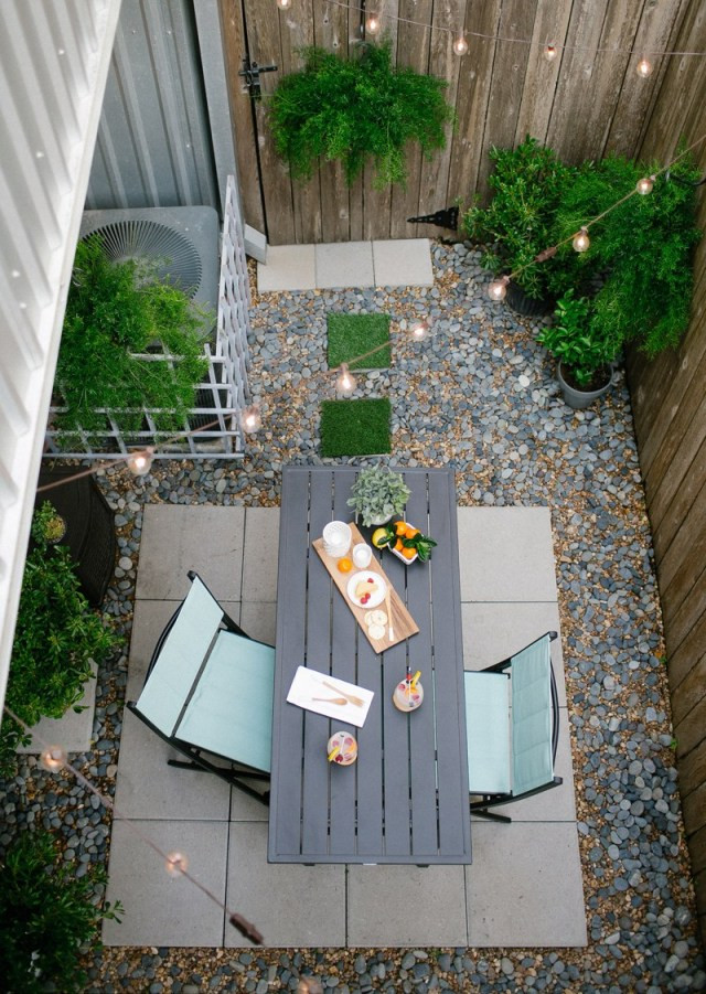 Best ideas about DIY Backyard Makeovers . Save or Pin DIY Before & after of my backyard with Home Depot Now.