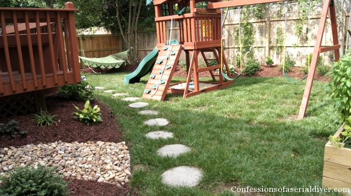 Best ideas about DIY Backyard Makeovers . Save or Pin Back Yard Makeover Now.