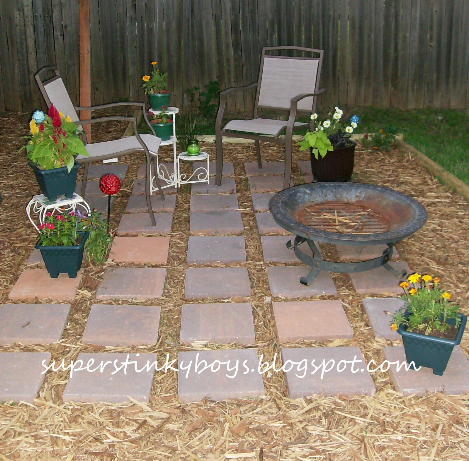Best ideas about Diy Backyard Patio . Save or Pin Support Blog for Moms of BOYS DIY Backyard Oasis Now.