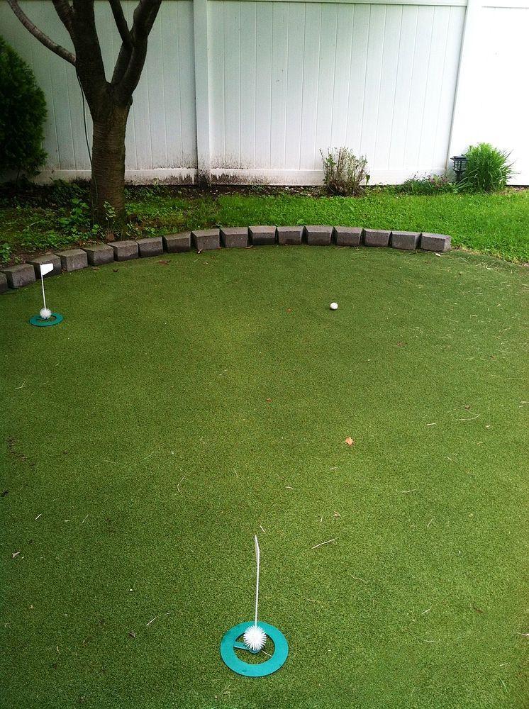 Best ideas about DIY Backyard Putting Greens . Save or Pin Hometalk DIY Backyard Golf Green Now.