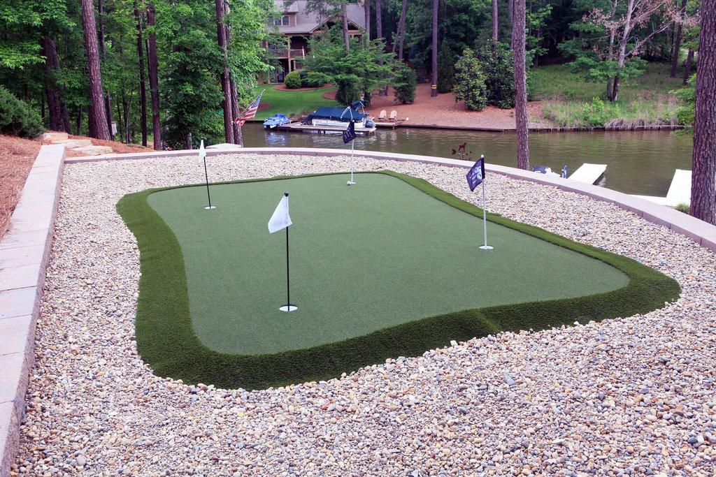 Best ideas about DIY Backyard Putting Greens . Save or Pin Installing A DIY Backyard Putting Green – Golf Gear Box Now.