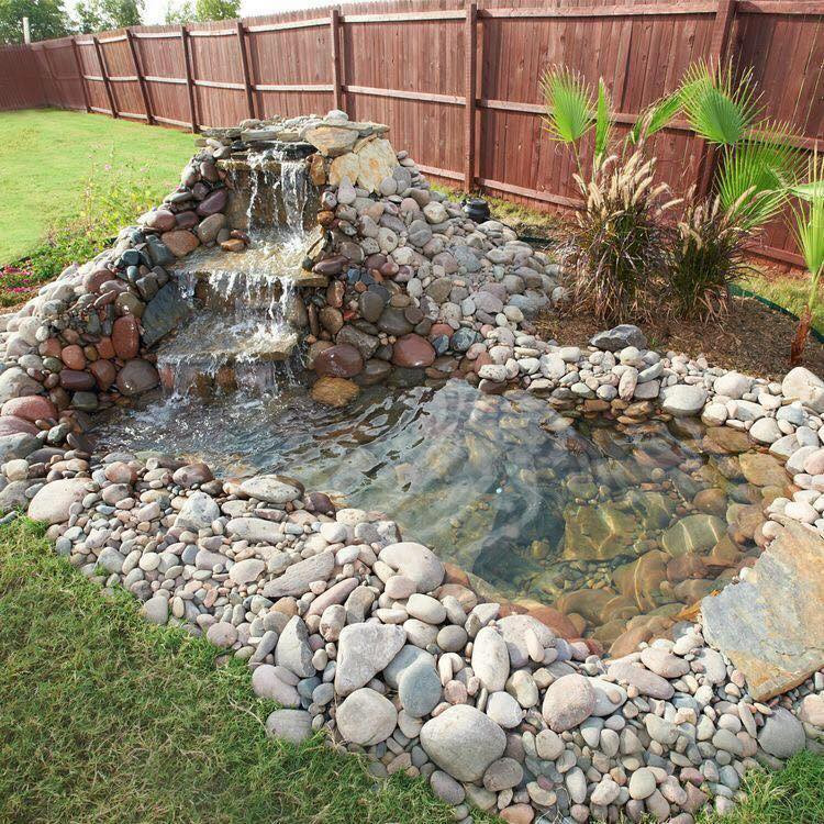 Best ideas about Diy Backyard Waterfall . Save or Pin Home Design Garden & Architecture Blog Magazine Now.