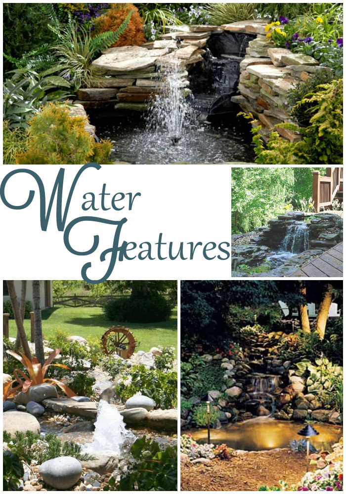 Best ideas about Diy Backyard Waterfall . Save or Pin DIY Backyard Waterfall & Pond All Things Heart and Home Now.