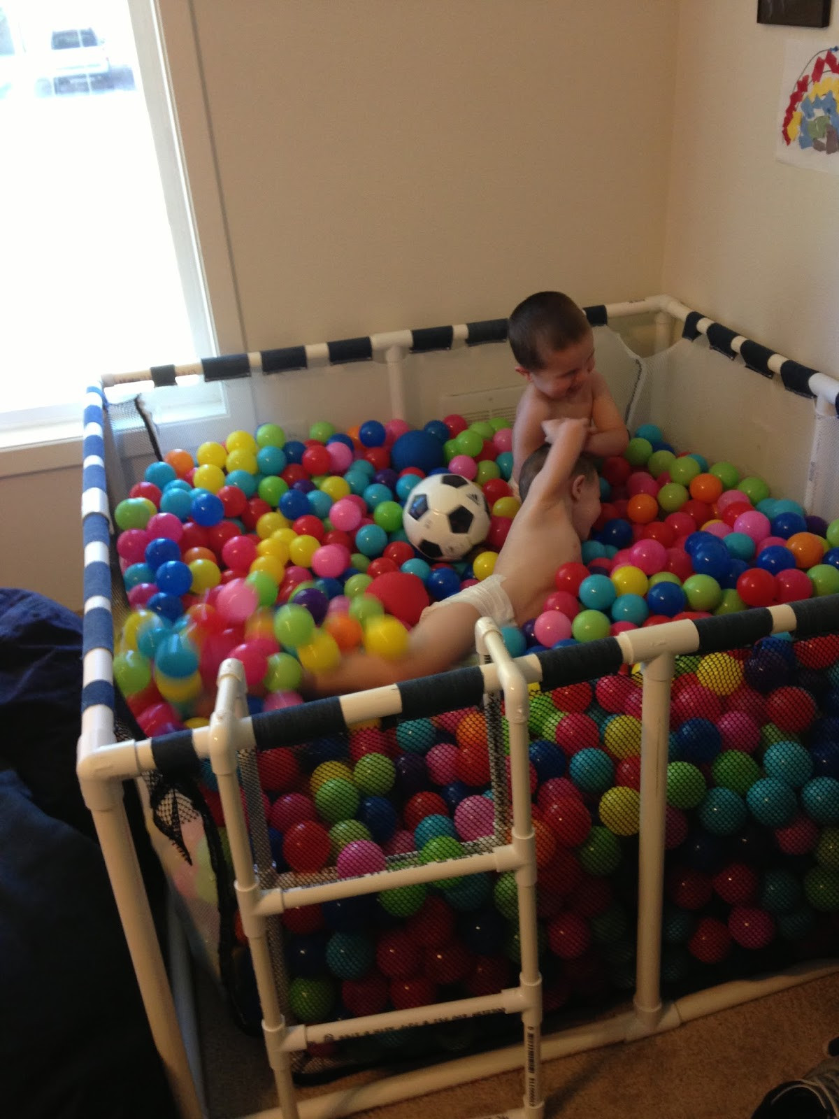 Best ideas about DIY Ball Pit For Toddlers . Save or Pin DIY An At Home Ball Pit for Any Age – Wow Amazing Now.
