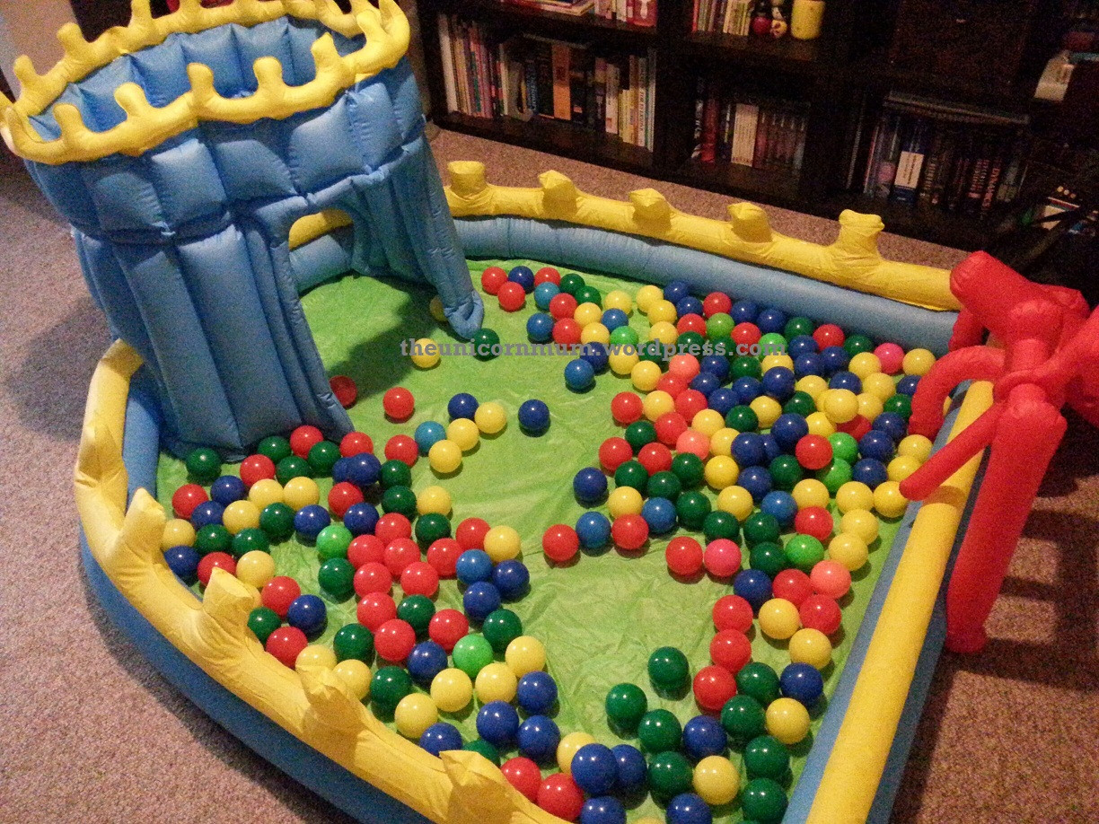 Best ideas about DIY Ball Pit For Toddlers . Save or Pin A Baby on a Bud DIY Ball Pit – The Unicorn Mum Now.