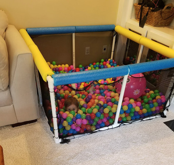Best ideas about DIY Ball Pit For Toddlers . Save or Pin DIY Ball Pit for Kids Now.
