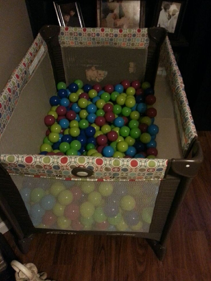 Best ideas about DIY Ball Pit For Toddlers . Save or Pin 41 best images about Homemade ball pits on Pinterest Now.