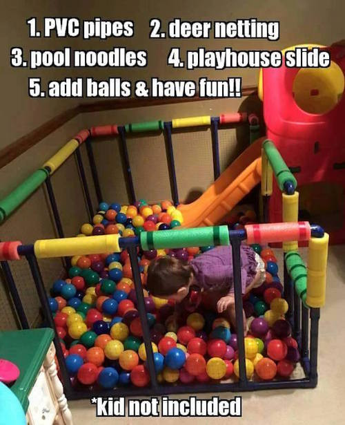 Best ideas about DIY Ball Pit For Toddlers . Save or Pin DIY Projects to Try Page 13 of 31 Smart School House Now.