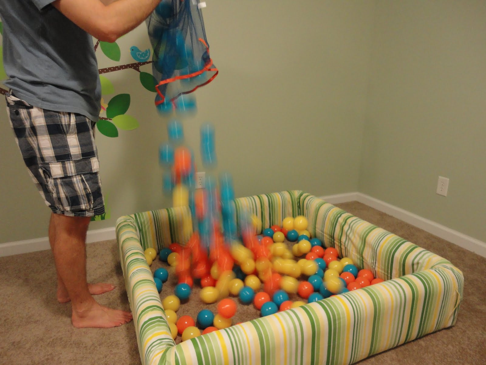 Best ideas about DIY Ball Pit For Toddlers . Save or Pin our life how to build a ball pit Now.