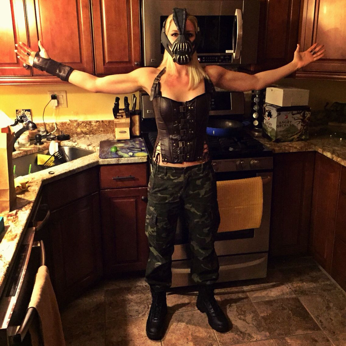 Best ideas about DIY Bane Mask . Save or Pin Female Bane Costume DIY Clothes Pinterest Now.