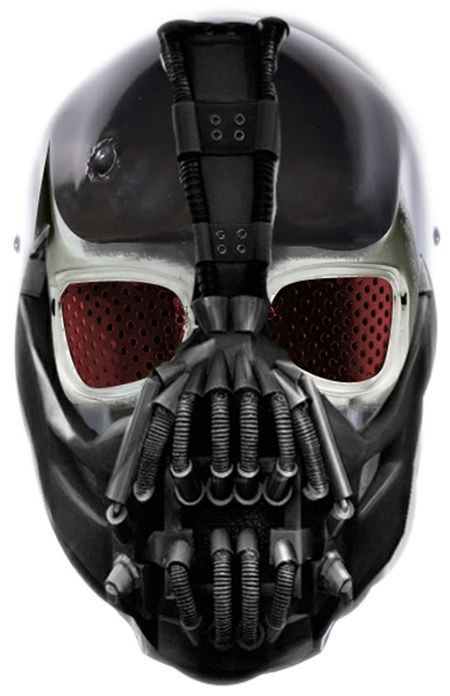 Best ideas about DIY Bane Mask . Save or Pin Bane paintball Mask … Paintball Mask Covers Now.