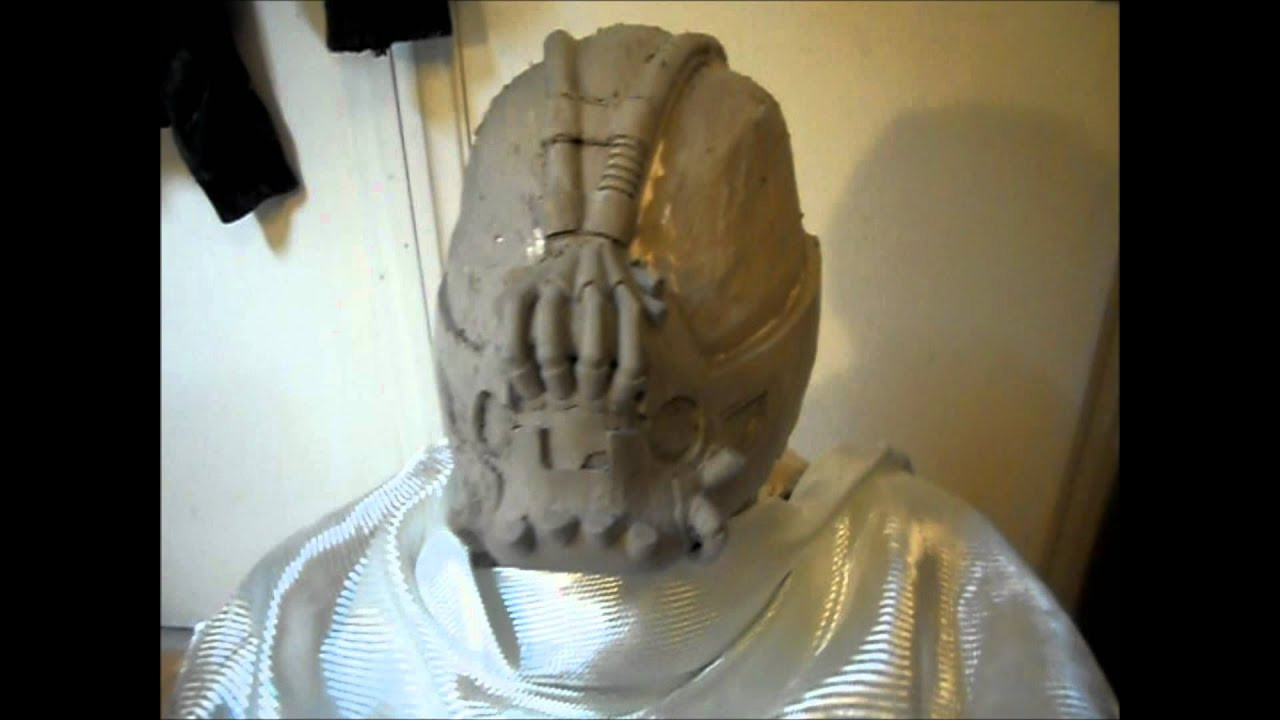 Best ideas about DIY Bane Mask . Save or Pin Bane Mask build sculpt project Batman The Dark Knight Now.