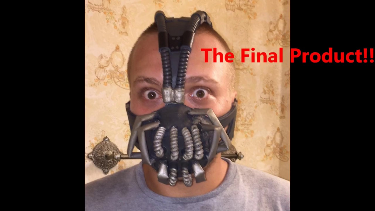 Best ideas about DIY Bane Mask . Save or Pin DIY Bane Mask Now.