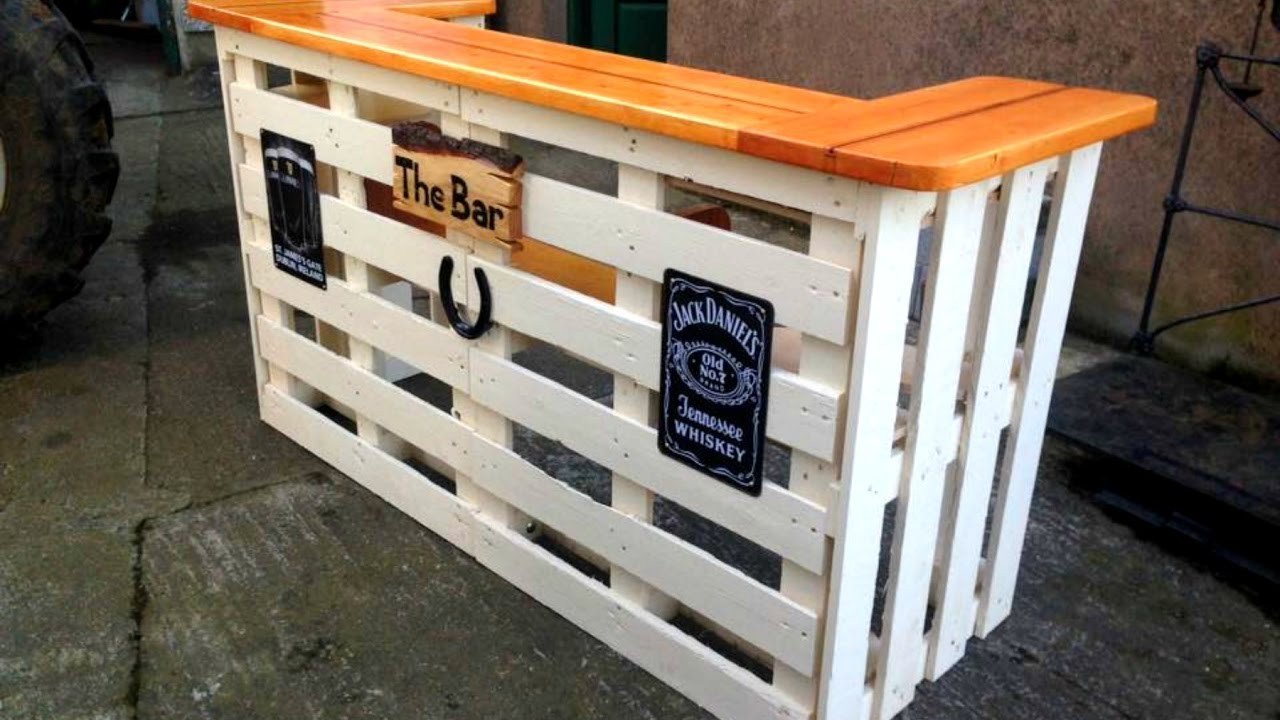 Best ideas about DIY Bar Plans . Save or Pin 40 DIY PALLET BAR Ideas Creative 2017 Cheap Recycled Bar Now.