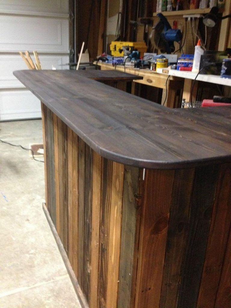 Best ideas about DIY Bar Plans . Save or Pin DIY Pallet Outdoor Bar and Stools – The Owner Builder Network Now.