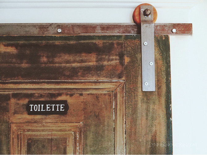 Best ideas about DIY Barn Door Tracks . Save or Pin Barn door track hardware HOW TO Now.