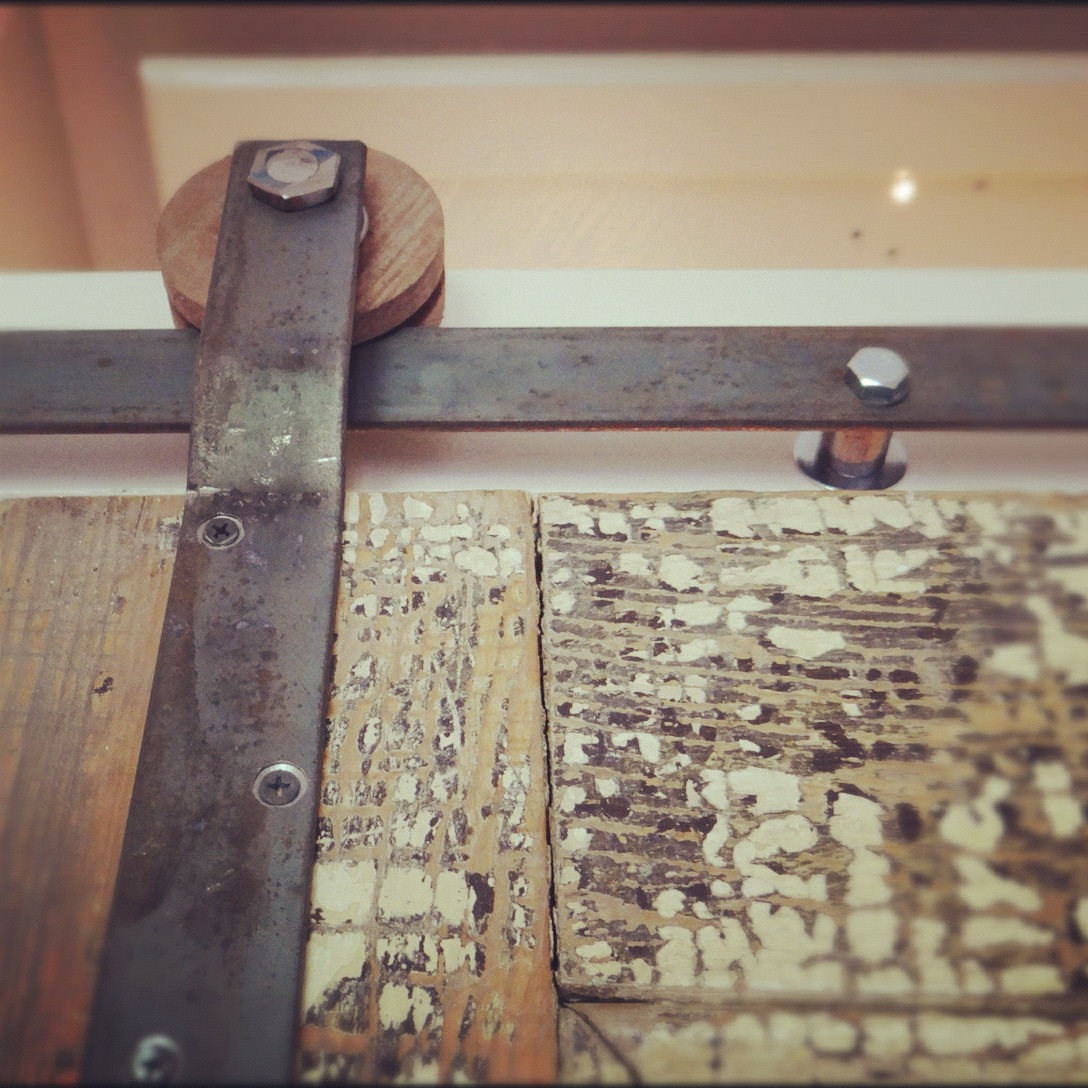 Best ideas about DIY Barn Door Tracks . Save or Pin DIY Door Track Hardware Save some money Be unique Now.