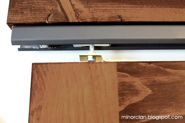 Best ideas about DIY Barn Door Tracks . Save or Pin How To Make a Sliding Door Easy DIY Now.