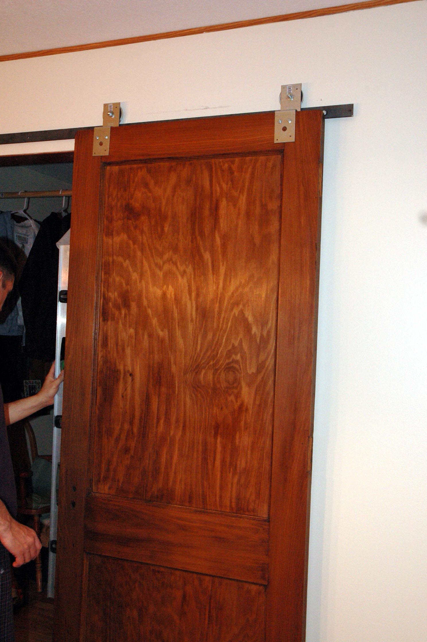 Best ideas about DIY Barn Door Tracks . Save or Pin DIY Barn Door Hardware Now.