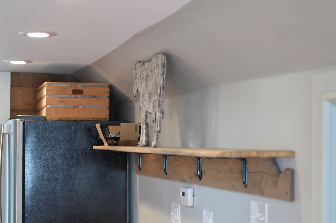 Best ideas about DIY Barn Wood Shelves . Save or Pin How to make a unique barn wood shelf Now.
