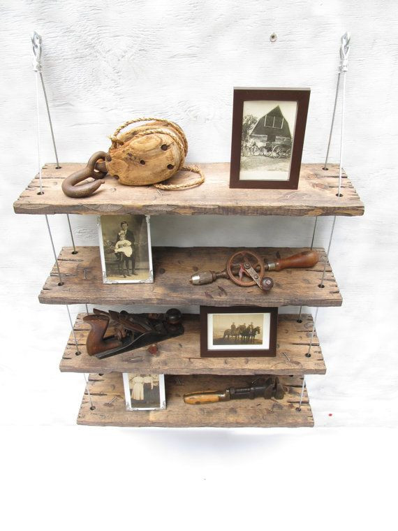 Best ideas about DIY Barn Wood Shelves . Save or Pin Best 25 Reclaimed wood shelves ideas on Pinterest Now.