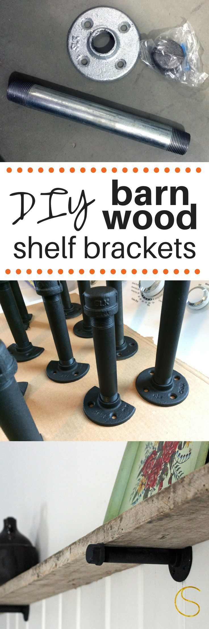 Best ideas about DIY Barn Wood Shelves . Save or Pin 15 Brilliant DIY Shelves You Can Build Yourself Homelovr Now.