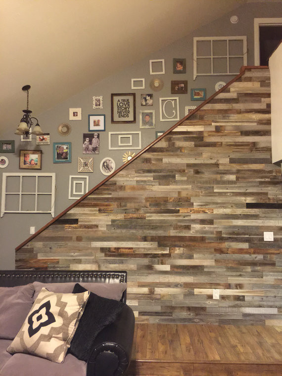 Best ideas about DIY Barnwood Wall . Save or Pin Reclaimed Wood Wall Paneling DIY asst 3 inch or 5 inch boards Now.