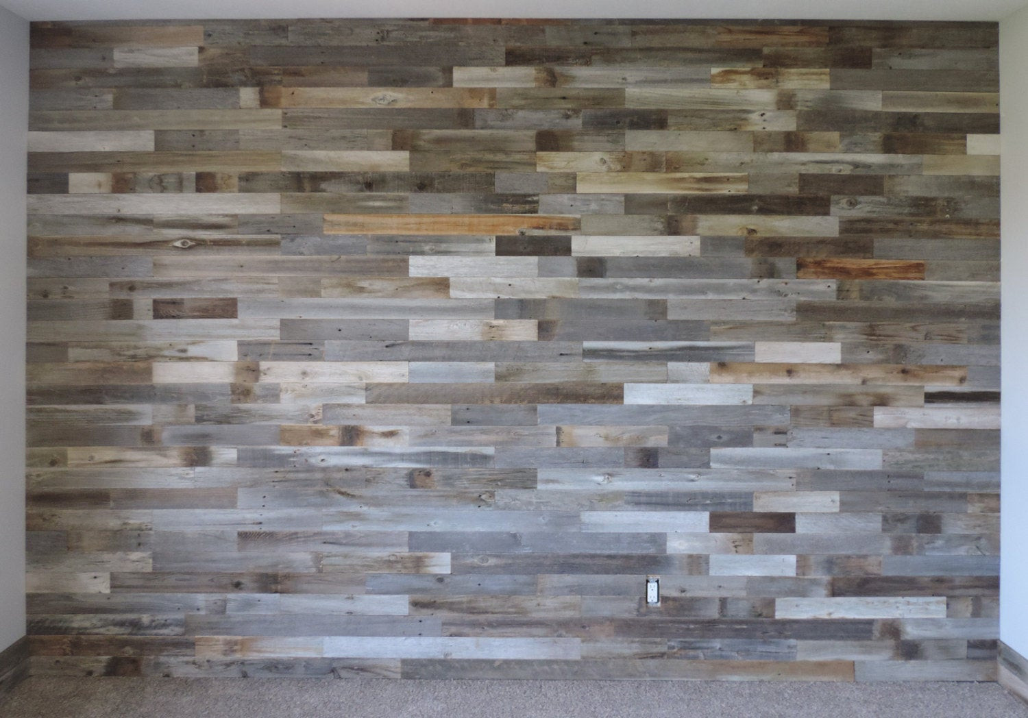 Best ideas about DIY Barnwood Wall . Save or Pin Reclaimed Wood Wall Paneling DIY asst 3 inch boards by Now.