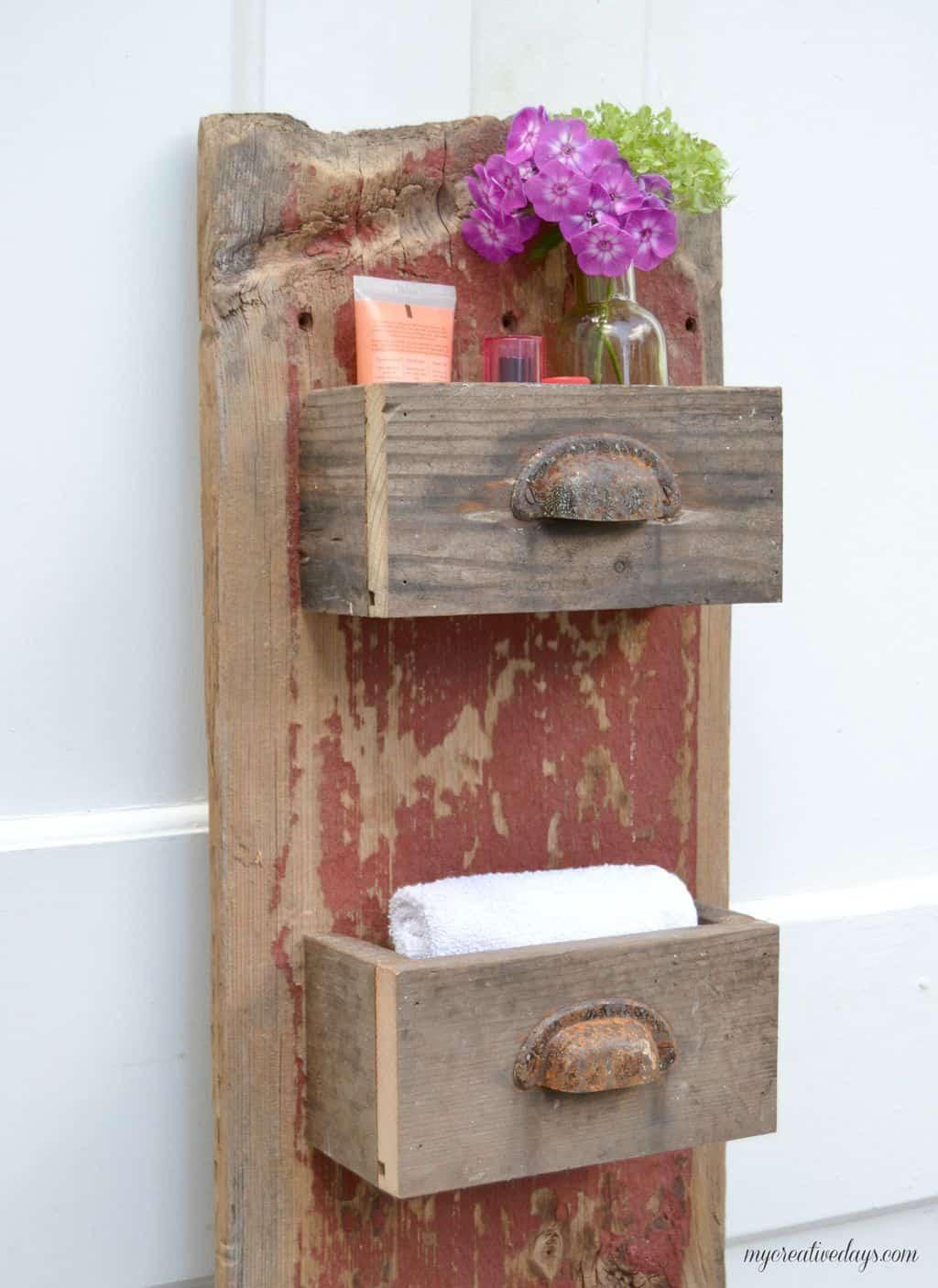 Best ideas about DIY Barnwood Wall . Save or Pin DIY Barn Wood Wall Bin My Creative Days Now.