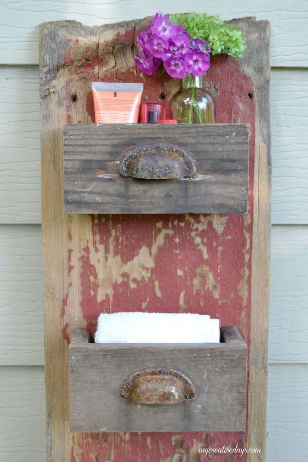 Best ideas about DIY Barnwood Wall . Save or Pin DIY Barn Wood Wall Bin Now.