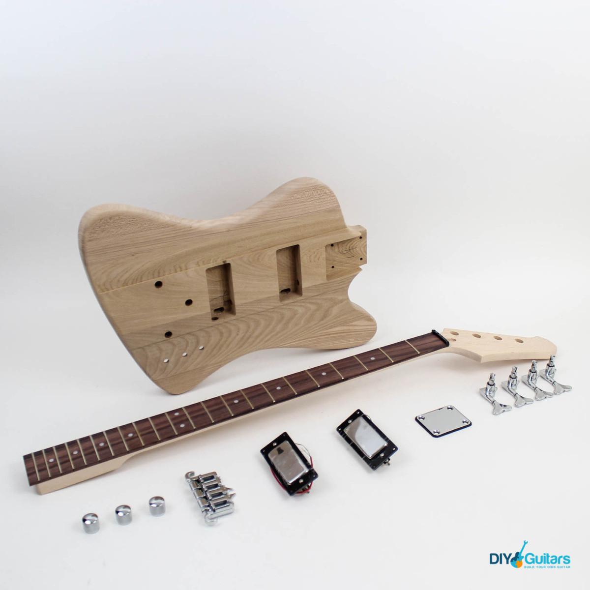 Best ideas about DIY Bass Kit . Save or Pin Gibson Thunderbird Style Bass Guitar Kit DIY Guitars Now.