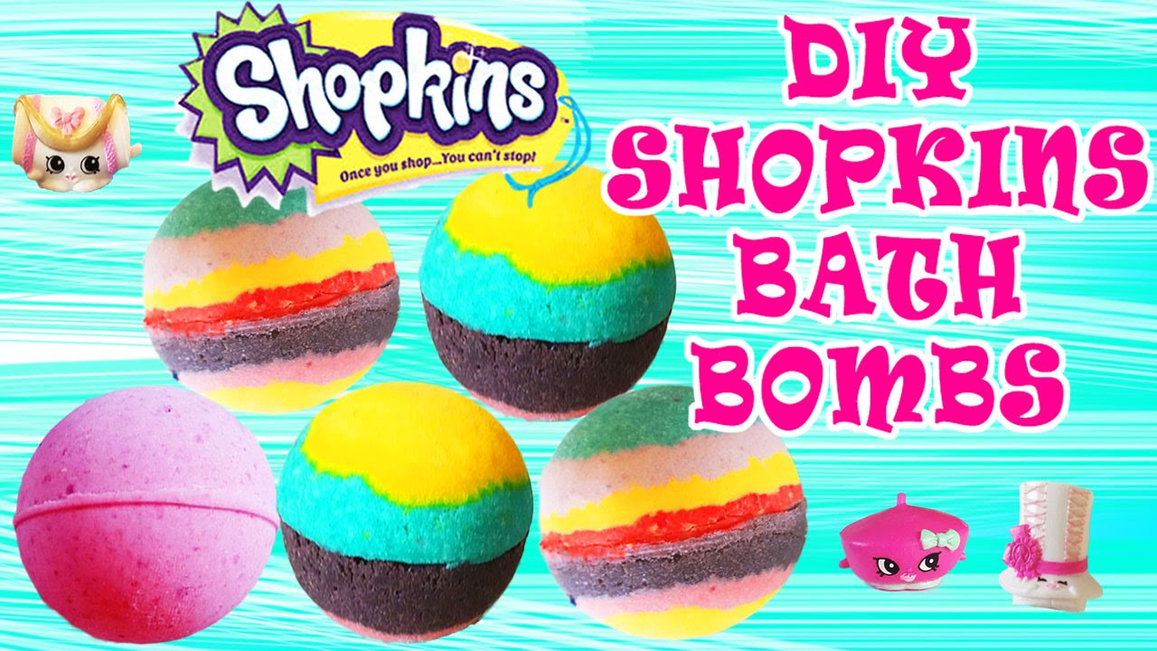 Best ideas about DIY Bath Bombs For Kids . Save or Pin DIY Shopkins Bath Bombs How To Make Bath Bombs Easy Now.