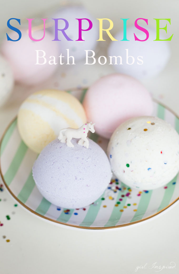 Best ideas about DIY Bath Bombs For Kids . Save or Pin Surprise DIY Bath Bombs girl Inspired Now.