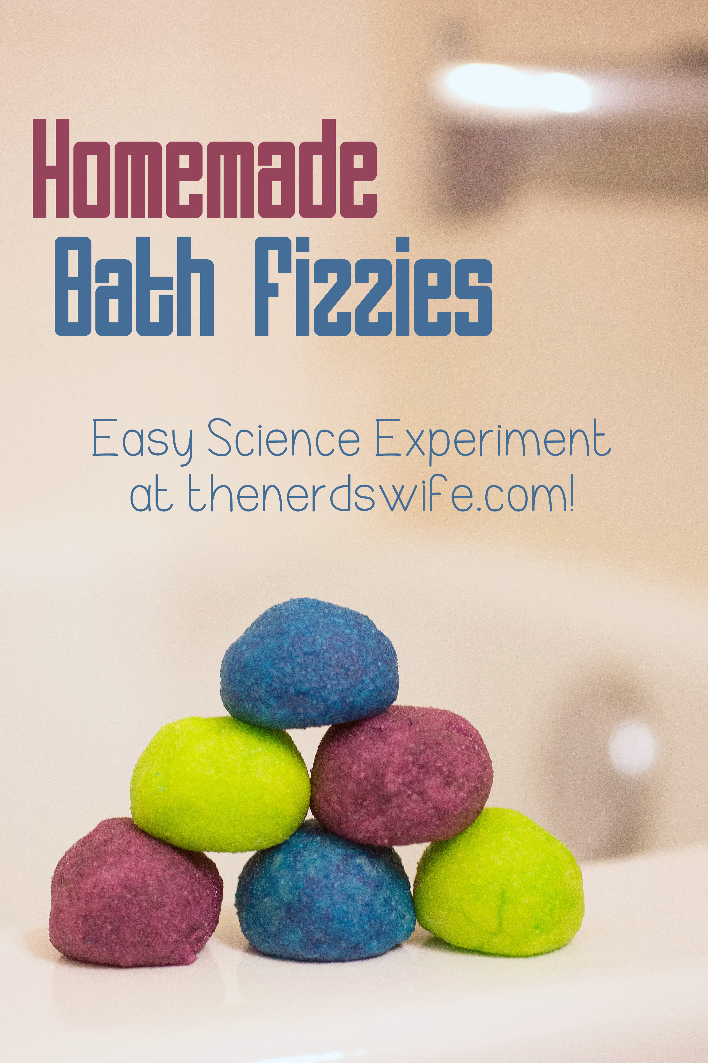 Best ideas about DIY Bath Bombs For Kids . Save or Pin Homemade Bath Fizzies Science Experiment with Netflix Now.