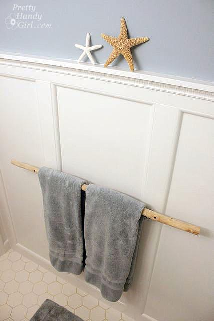 Best ideas about DIY Bathroom Towel Rack . Save or Pin Creative DIY Towel Rack Ideas For Your Boring Bathroom Now.