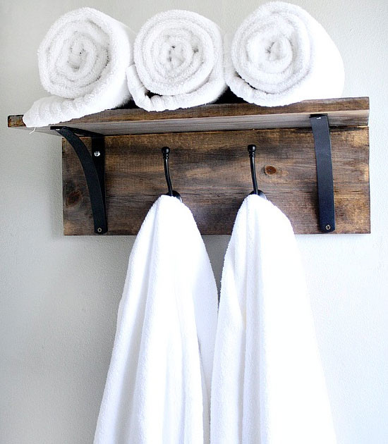Best ideas about DIY Bathroom Towel Rack . Save or Pin Easy And Inexpensive DIY Towel Holder Ideas Interior Vogue Now.