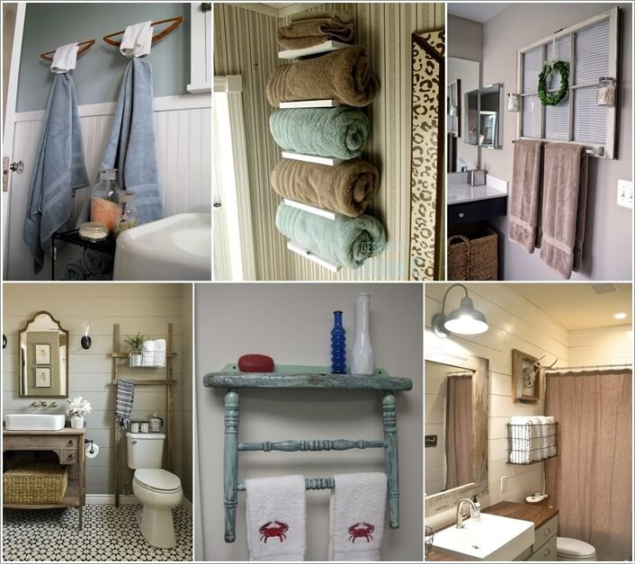 Best ideas about DIY Bathroom Towel Rack . Save or Pin Best 25 Diy towel holders ideas on Pinterest Now.