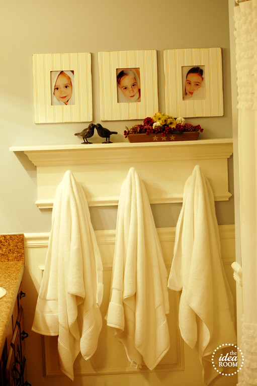 Best ideas about DIY Bathroom Towel Rack . Save or Pin Creating a Meaningful Home The Idea Room Jenna Burger Now.